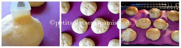 cuisson petits pains au morbier