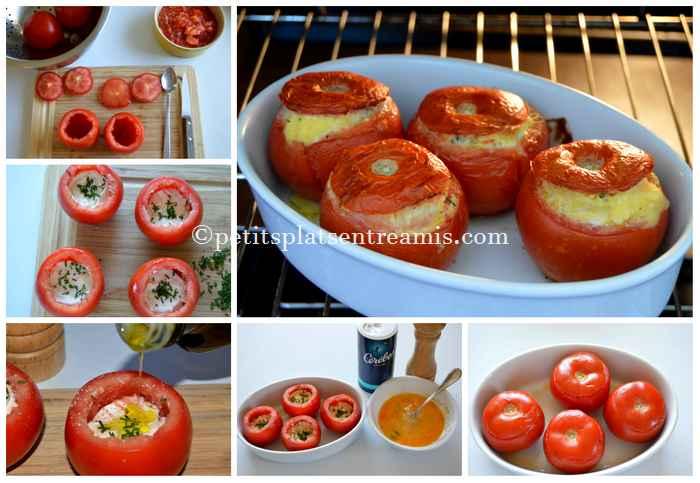 cuisson tomates farcies au chèvre