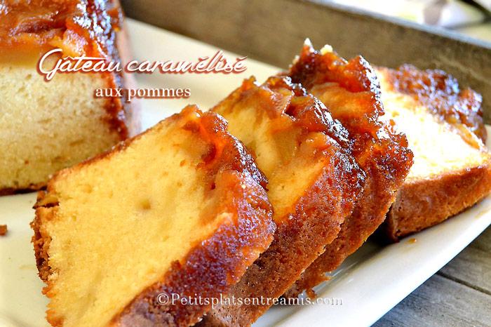 gâteau-caramélisé-aux-pommes