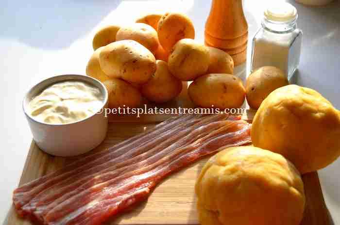 ingrédients pâté de pommes de terre