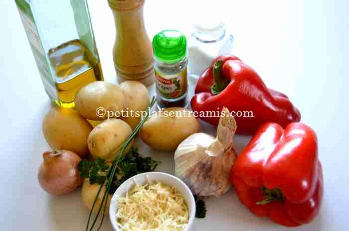 ingrédients pommes-de-terre-farcies-aux-poivrons
