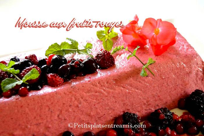 mousse-aux-fruits-rouges