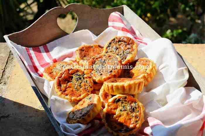 petites-tartelettes-aux-champignons recette