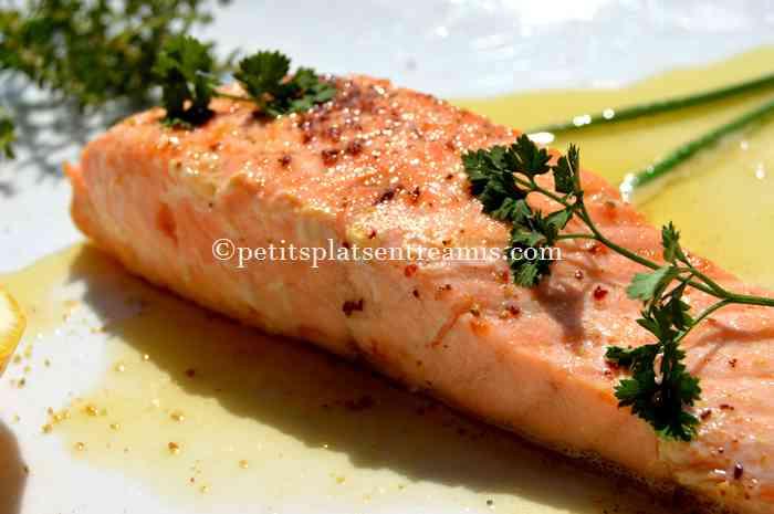 recette pavé de saumon au beurre blanc