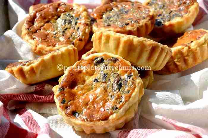 recette petites-tartelettes-aux-champignons