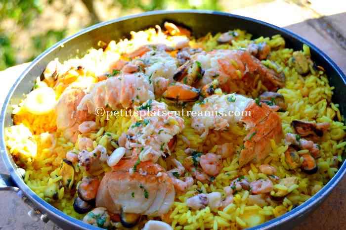 riz-pilaf-aux-fruits-de-mer recette