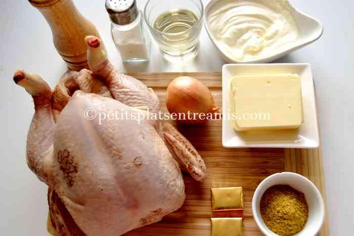 ingredients-du-poulet-au-curry