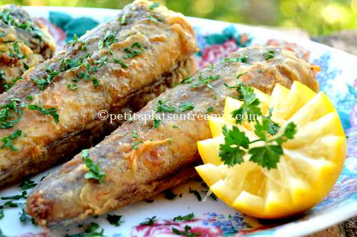 recette merlus frits