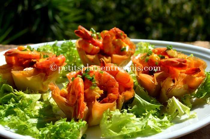 timbales-de-crevettes-aux-epices-et-lait-de-coco-recette
