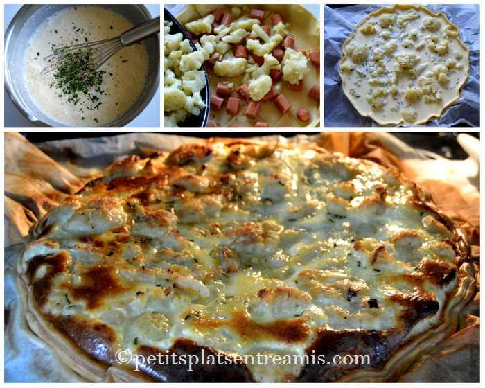 cuisson-quiche-au-chou-fleur-et-saucisses