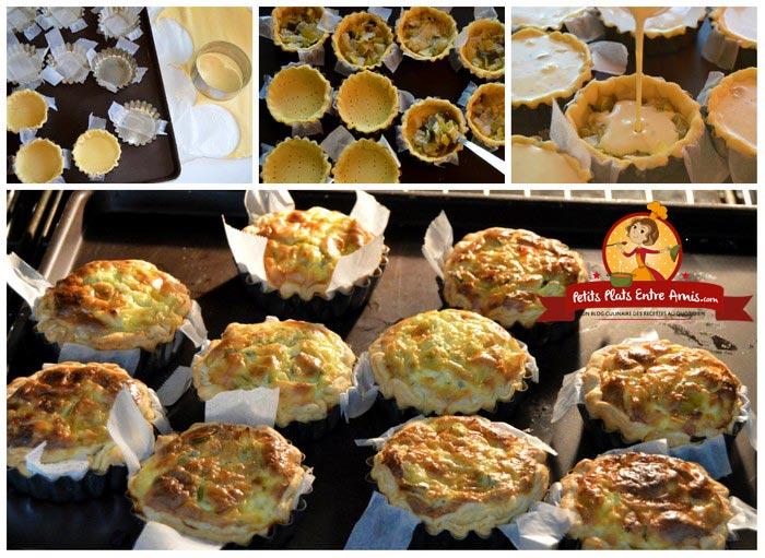 cuisson-tartelettes-poireaux-et-tartare