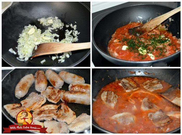 cuisson-tomates-et-saucisses