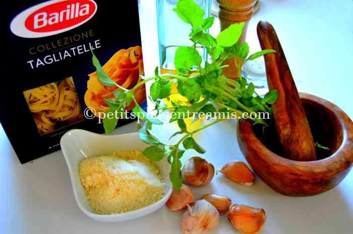ingredients-des-pates-au-pistou