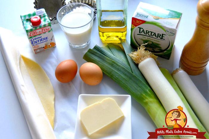 ingredients-pour-mini-tartelettes-au-poireaux-et-tartare