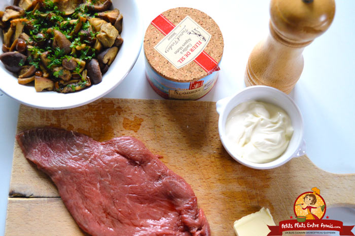 ingredients-pour-steak-a-la-forestiere