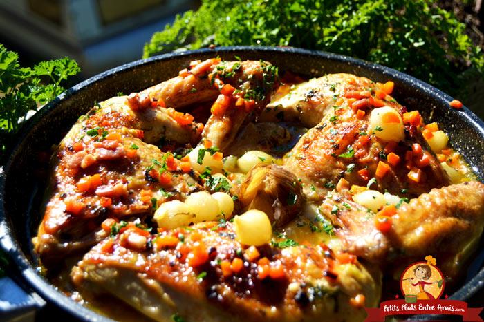 poulet-saute-aux-petits-oignons-recette