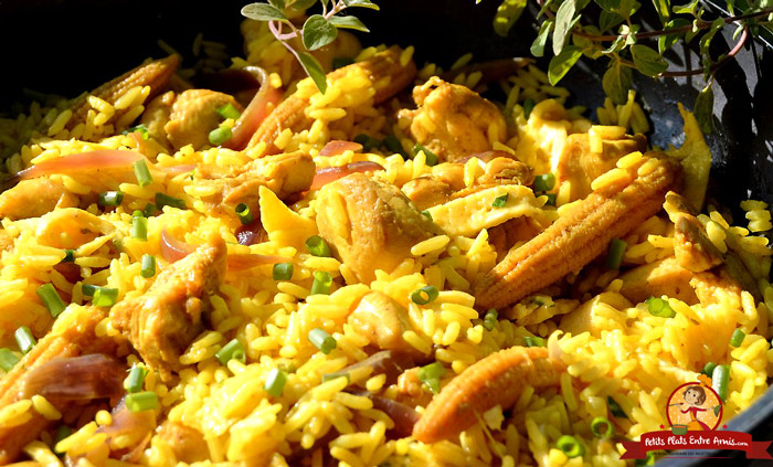 recette-du-riz-safrane-au-poulet