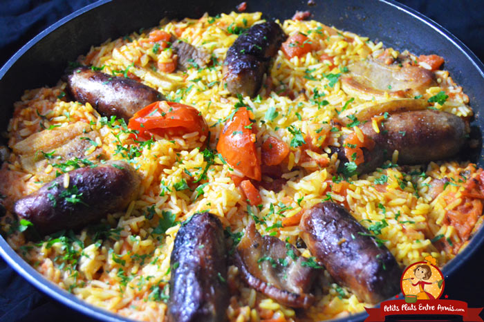 riz-a-la-tomate-et-aux-saucisses-recette
