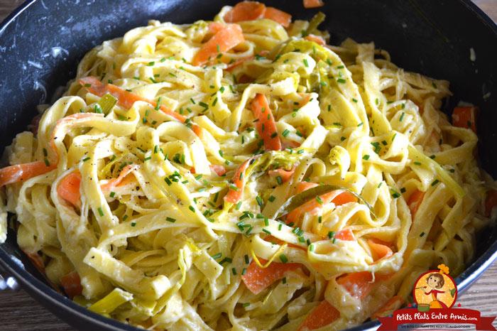 tagliatelles-fraiches-a-la-fondue-de-poireaux-recette