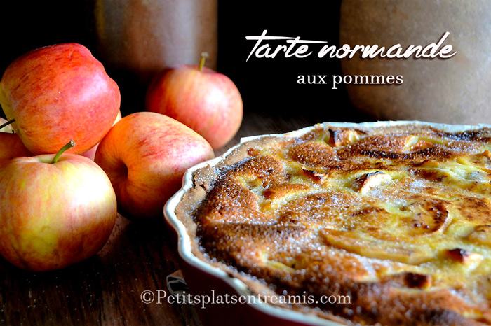 recette de la tarte normande aux pommes petits plats entre amis. Black Bedroom Furniture Sets. Home Design Ideas