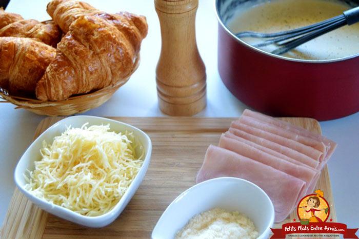 ingredients-du-croissant-au-jambon