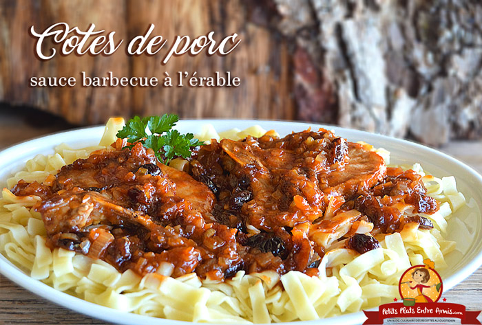 cotes-de-porc-sauce-barbecue-a-lerable