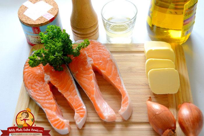 ingredients-darne-de-saumon-au-beurre-blanc