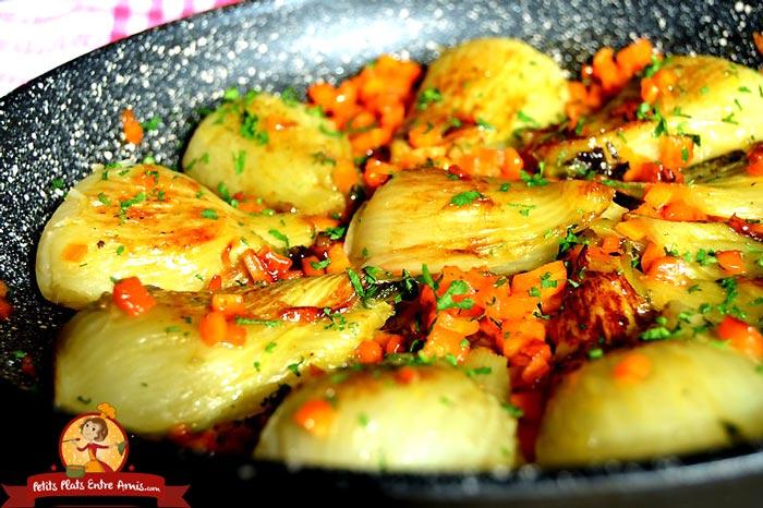recette-de-fenouil-braise-au-sirop-derable