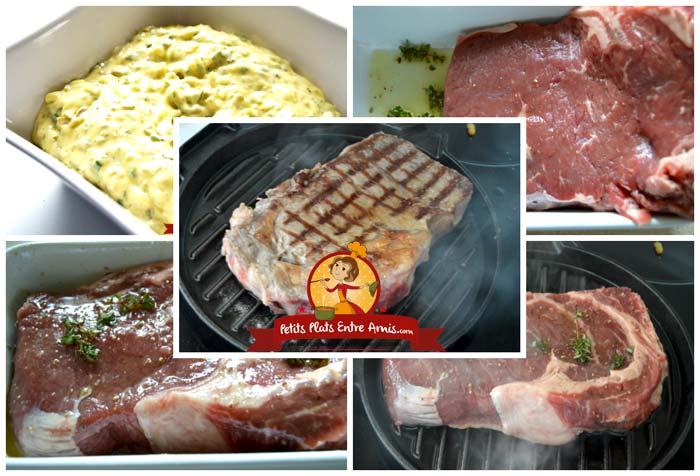 Recette Entrecôte au Barbecue et sauce tartare