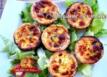 Mini-quiches aux moules