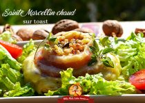 Saint-Marcellin chaud sur toast