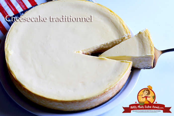 Recette du cheesecake traditionnel