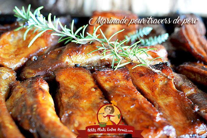 Marinade pour ribs-travers de porc