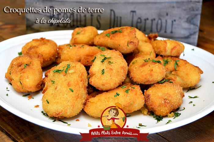 Croquettes de pommes de terre à la chipolata
