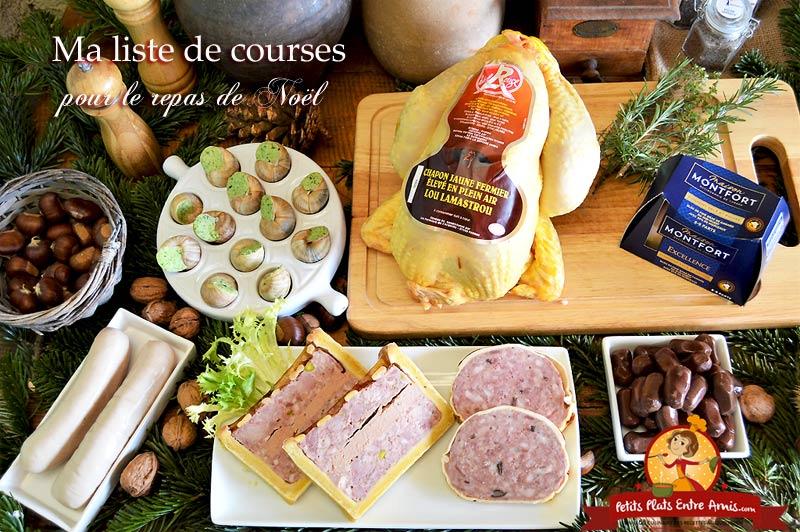 Menu Repas De Noel Antillais.Ma Liste De Courses Pour Le Repas De Noel