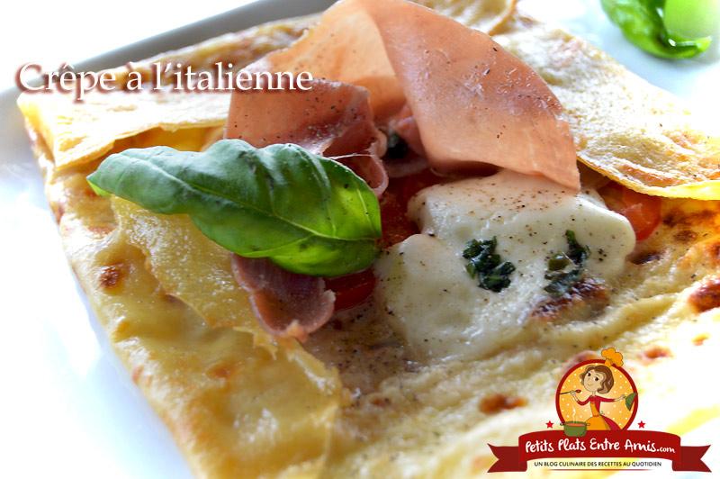 Crêpe à l'italienne