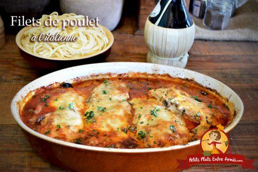 Filets de poulet à l'italienne