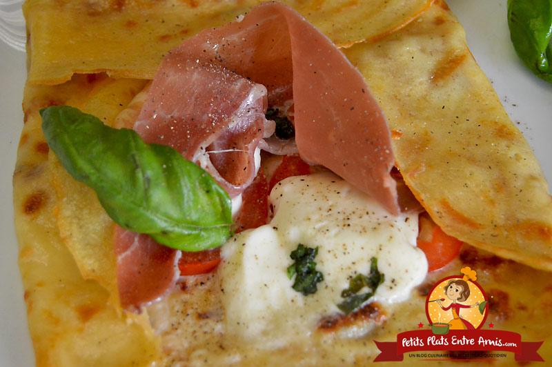 Recette de crêpe à l'italienne
