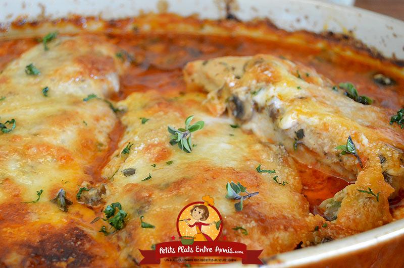Recette de filet de poulet à l'italienne