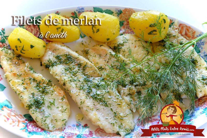 Filets De Merlan A L Aneth Petits Plats Entre Amis