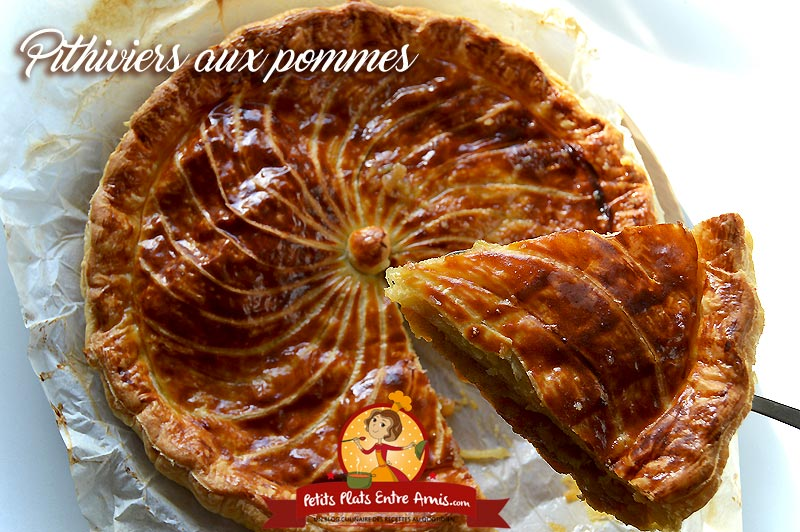 Pithiviers aux pommes