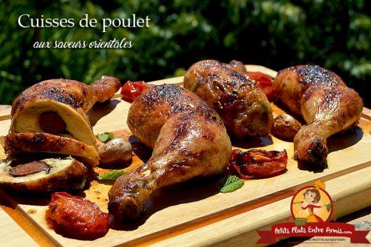 Cuisses de poulet aux saveurs orientales