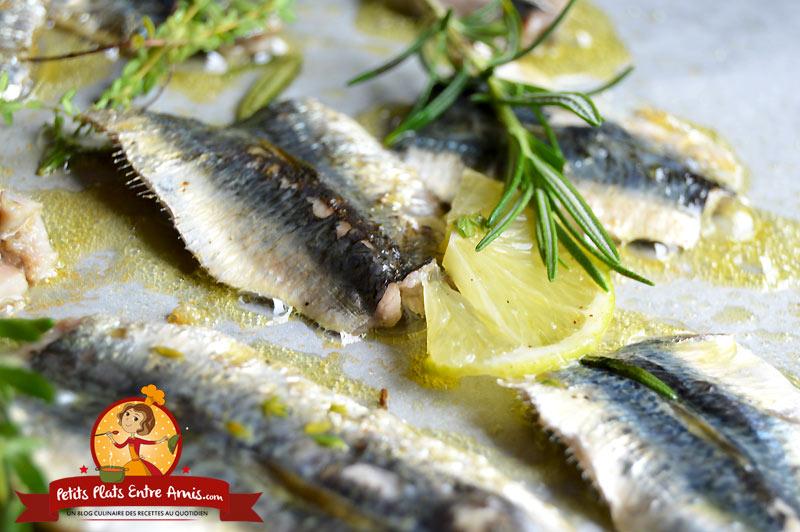 Recette de filets de sardines à la plancha