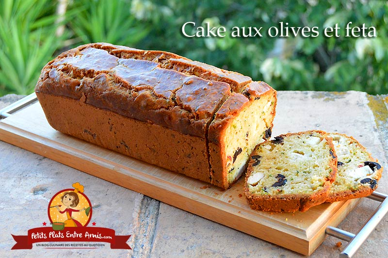 Cake aux olives et feta