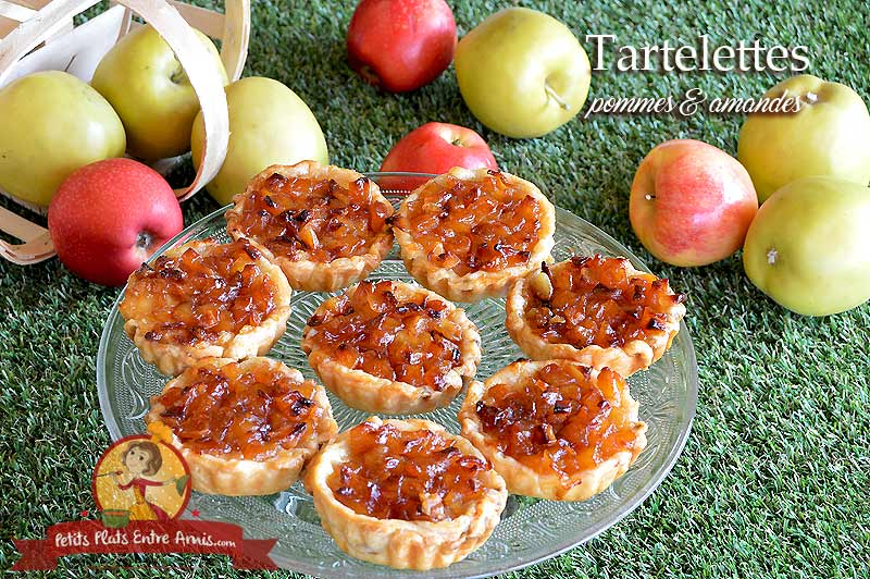 Tartelettes pommes amandes