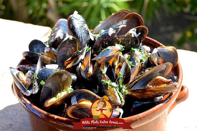 Moules marinières la recette