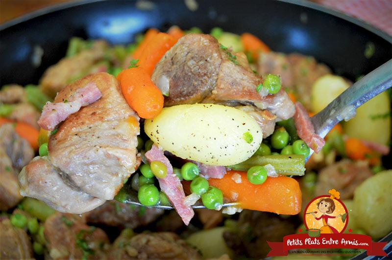 Quelle cuisson pour le sauté de porc