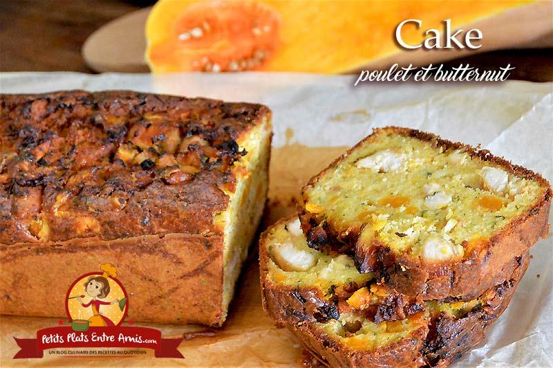 Cake au poulet et butternut