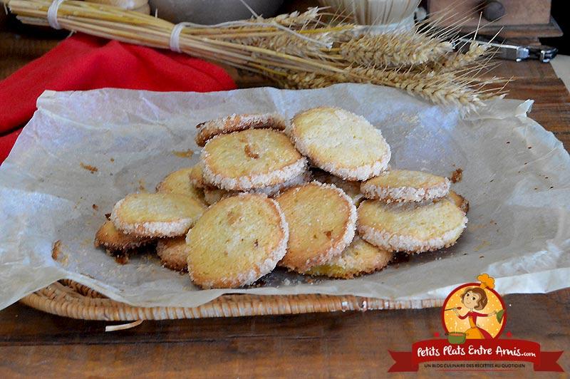 Biscuits au citron la recette
