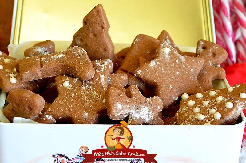 Recette sablés de Noël chocolat cannelle
